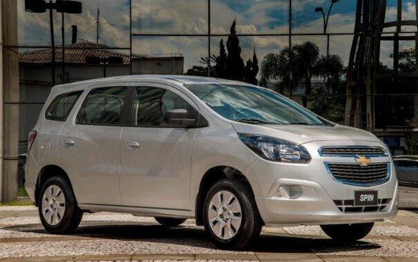 Chevrolet Spin 2016