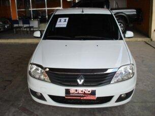 Super Oferta: Renault Logan Expression 1.6 8V Hi-Torque (flex) 2010/2011 4P Branco Flex