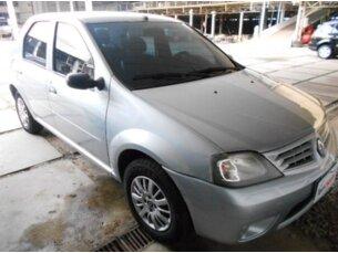 Super Oferta: Renault Logan Authentique 1.0 16V (flex) 2007/2008 4P Prata Flex