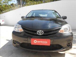 Super Oferta: Toyota Etios X 1.3 (Flex) 2013/2013 4P Preto Flex