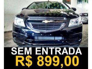 Super Oferta: Chevrolet Onix 1.0 LS SPE/4 2014/2015 4P Preto Flex