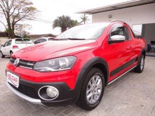 Super Oferta: Volkswagen Saveiro Cross 1.6 (Flex) (cab. estendida) 2013/2014 2P Vermelho Flex