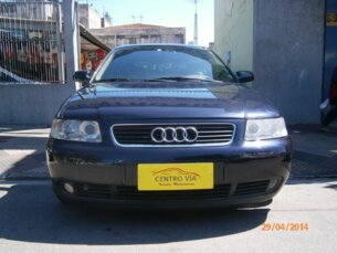 Super Oferta: Audi A3 1.8 20V 2004/2004 4P Azul Gasolina