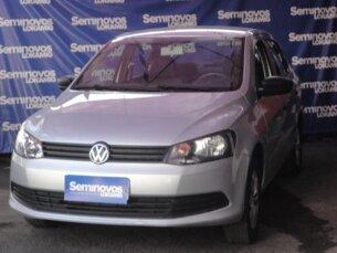 Super Oferta: Volkswagen Voyage 1.6 VHT (Flex) 2013/2014 4P Prata Flex