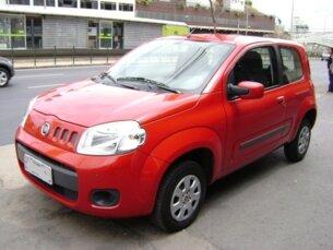Super Oferta: Fiat Uno Vivace 1.0 8V (Flex) 2p 2011/2012 2P Vermelho Flex