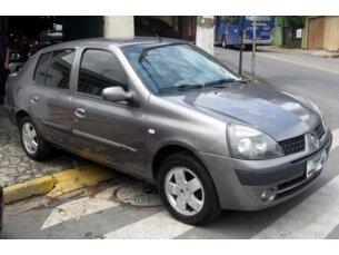 Super Oferta: Renault Clio Sedan Privilége 1.0 16V 2004/2005 4P Cinza Gasolina