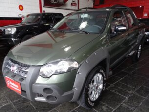Super Oferta: Fiat Strada Adventure 1.8 16V E.TorQ (Cab Dupla) 2010/2011 2P Verde Flex
