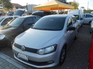 Super Oferta: Volkswagen Voyage (G6) 1.0 TEC Total Flex 2012/2013 4P Prata Flex