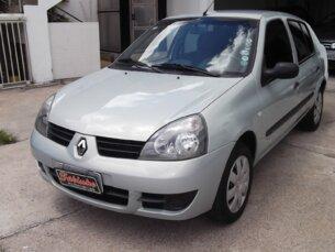 Super Oferta: Renault Clio Sedan Expression 1.0 16V (flex) 2007/2008 4P Prata Flex
