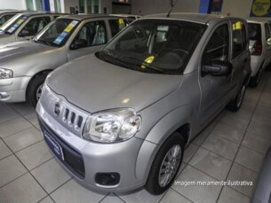 Super Oferta: Fiat Uno Vivace 1.0 8V (Flex) 4p 2012/2013 4P Prata Flex