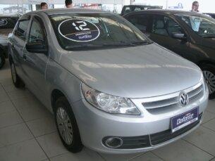 Super Oferta: Volkswagen Voyage 1.6 Total Flex 2011/2012 4P Prata Flex