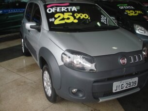 Super Oferta: Fiat Uno Way 1.4 8V (Flex) 4p 2011/2012 4P Prata Flex
