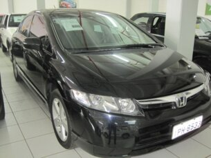 Super Oferta: Honda New Civic LXS 1.8 2008/2009 4P Preto Flex