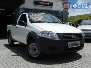Super Oferta: Fiat Strada Working 1.4 (Flex) 2013/2013 2P Branco Flex