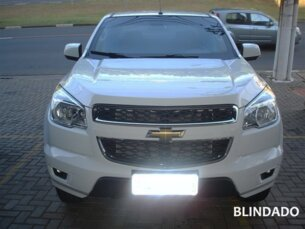 Super Oferta: Chevrolet S10 LT 2.4 flex (Cab Dupla) 4x2 2013/2014 P Branco Flex