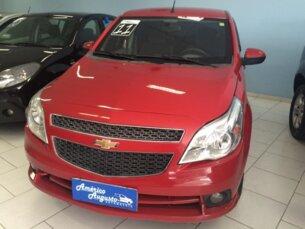 Super Oferta: Chevrolet Agile LTZ 1.4 8V (Flex) 2010/2011 4P Vermelho Flex