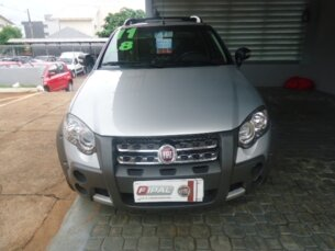 Super Oferta: Fiat Strada Adventure Locker 1.8 16V E.TorQ (Cab Estendida) 2010/2011 2P Prata Flex