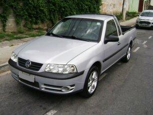 Super Oferta: Volkswagen Saveiro SuperSurf 1.6 MI (Flex) 2005/2005 2P Prata Flex