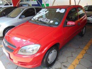 Super Oferta: Chevrolet Celta LS 1.0 (Flex) 2p 2011/2012 2P Vermelho Flex