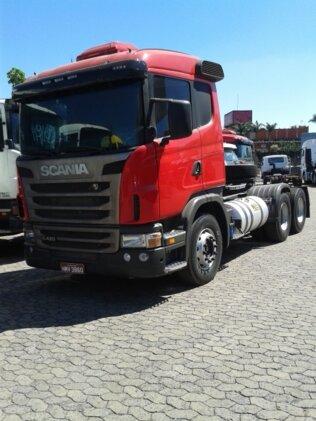 SCANIA G-420 A 6X4 SZ REB. 3 EIXOS