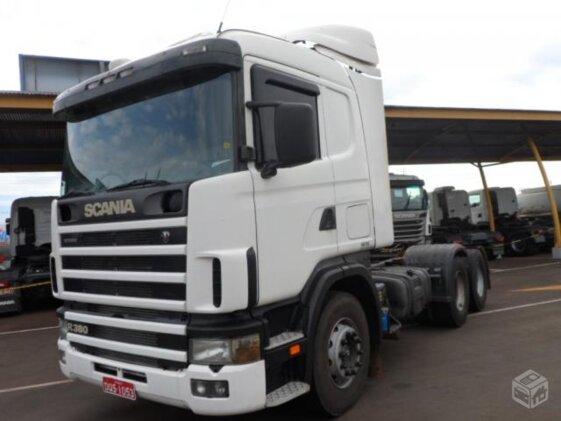 SCANIA R-114 GA 380 6X2
