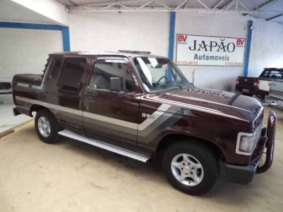 CHEVROLET D20 PICK UP CUSTOM S TURBO 4.0  CAB DUPLA