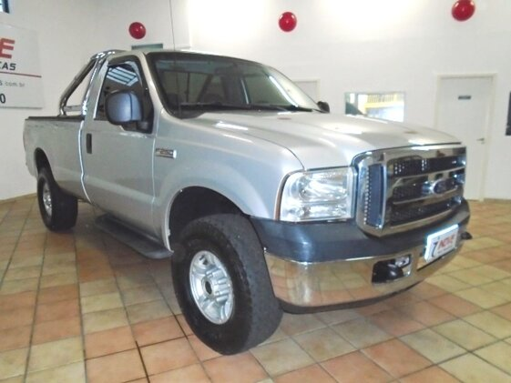 FORD F-250 XLT 4X4 3.9  CAB SIMPLES