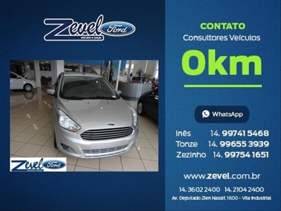FORD KA SEDAN SE PLUS 1.5 16V  FLEX