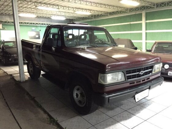 CHEVROLET D20 PICK UP CUSTOM LUXE TURBO 4.0  CAB SIMPLES
