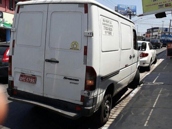 MERCEDES BENZ SPRINTER STREET 311 2.2 FURGÃO  CURTO/TETO BAIXO