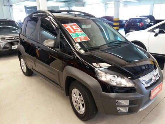 FIAT IDEA ADVENTURE 1.8 16V E.TORQ  FLEX