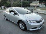 Honda New Civic LXS 1.8 16V i-VTEC (aut) (flex) Prata