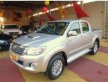 Toyota Hilux 3.0 TDI 4x4 CD SRV Top Auto Prata