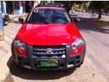Fiat Strada Adventure 1.8 8V (Flex) (Cab Dupla) Vermelho