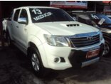 Toyota Hilux 3.0 TDI 4x4 CD SRV Auto Branco