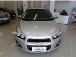 Chevrolet Sonic Sedan LTZ 1.6 (Aut) 2013/2014 4P Prata Flex