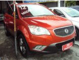 SsangYong Korando 2.0 GL AWD (aut) 2011/2012 4P Laranja Diesel