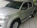 Toyota Hilux 2.7 Flex 4x2 CD SR Auto 2013/2013 P Prata Flex