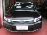 Honda New Civic LXS 1.8 16V i-VTEC (aut) (flex) 2014/2014 5P Preto Flex