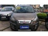 Fiat Idea Adventure 1.8 Dualogic (Flex) 2015/2016 4P Cinza Flex