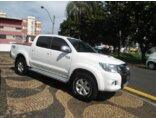 Toyota Hilux 3.0 TDI 4x4 CD SRV 2011/2012 4P Branco Diesel