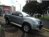 Toyota Hilux 3.0 TDI 4x4 CD SRV Top (Aut) 2014/2015 4P Prata Diesel