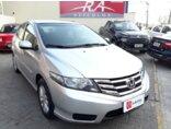 Honda City LX 1.5 16V (flex) (aut.) 2013/2013 4P Prata Flex