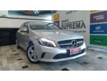 Mercedes Benz Classe A 200 1.6 Turbo FlexFuel DCT 2015/2016 4P Prata Flex