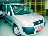 Fiat Doblò Attractive 1.4 8V (Flex) 2015/2016 4P Prata Flex