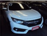 Honda Civic EXL 2.0 i-VTEC CVT 2016/2017 4P Branco Flex