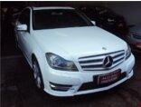 Mercedes Benz C 200 Avantgarde 1.8 CGI Turbo 2012/2013 4P Branco Gasolina