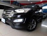 Hyundai Santa Fe 3.3L V6 4x4 (Aut) 7L 2013/2014 4P Preto Gasolina