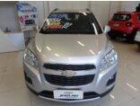 Chevrolet Tracker LTZ 1.8 16v Ecotec (Flex) (Aut) 2013/2014 4P Prata Flex