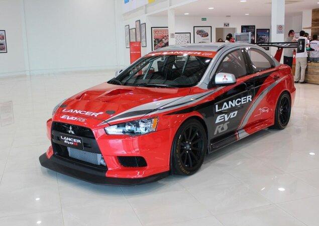 Modelo vai correr a Lancer Cup junto com o atual Lancer Evo R na temporada 2014